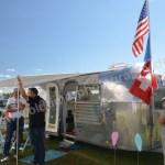 Airstream Caravan beim Hymer Museumsfest 2017