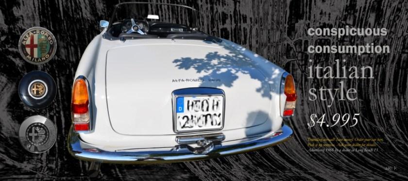 Alfa Romeo 2600 Spider Poster for sale