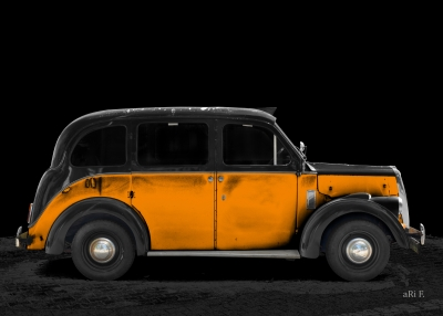 Beardmore Mk VII Paramount Taxi Poster