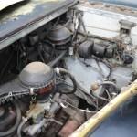 Bearmore Mk 7 Motorraum mit 1,703cc OHV Ford Consul inline 4-cylinder engine