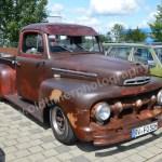 Ford Pick-up von 1951 im Rat-Look
