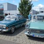 Ford Taunus 17M und Opel Rekord P2
