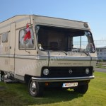 Hymer-Mobil mit Opel Bedford Blitz Chassis