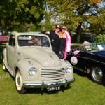 Posing mit Fiat Topolino
