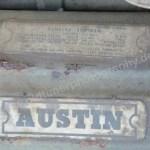 Wolseley Motor Aufkleber Austin