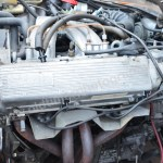 Saab 900i Motorraum