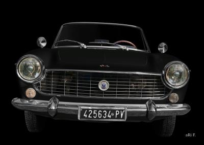 Fiat 1500 Spider Poster (1963-1966)