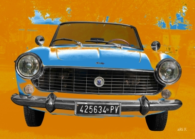 Fiat 1500 Spider Art Car