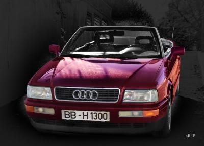 Audi 80 Cabriolet Frontansicht Originalfarbe