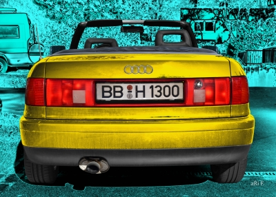 Audi 80 Cabriolet Heckansicht new created by ari F.