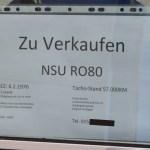 NSU Ro 80 Zu Verkaufen für 3500 Euro VHB
