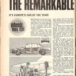 Car of the Year 1967 in Europe