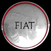 Logo Fiat Topolino C auf Radkappe
