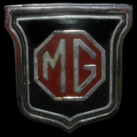 Logo MGB Roadster Mk III (Baujahr 1973)