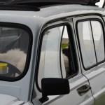 Renault 4 Seitenansicht Detail