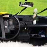 Renault 4 Innenansicht auf Armaturentafel Baujahr 1991