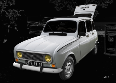 Renault 4 TL Savane in Originalfarbe