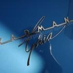 VW Karmann-Ghia Logo am Heck