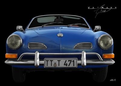 VW Karmann-Ghia Typ 14 Poster