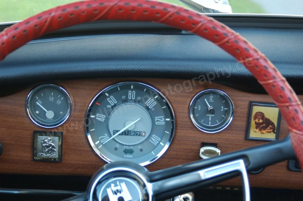 VW Karmann Ghia mit 51192 km Laufleistung