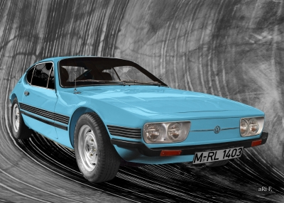 VW SP2 (Produktionszeit 1972-1976) Originalfarbe