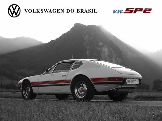 VW SP2 Volkswagen do Brasil Advertising