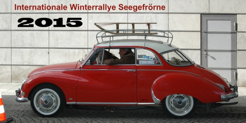 Winterrallye Seegefrörne 2015 mit Zwischenstop in Friedrichshafen