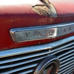 Plymouth Valiant Convertible Frontdetail