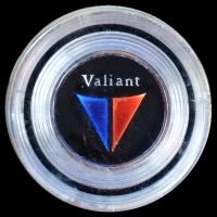 Logo Valiant auf Plymouth Valiant Signet Lenkrad Baujahr 1962