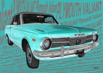 Plymouth Valiant Signet Car Design by aRi F.