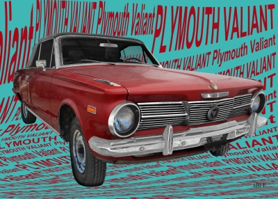 Plymouth Valiant Signet (Originalfarbe) Autofotografie by aRi F.