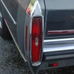 Cadillac Fleetwood Brougham Heckdetailansicht Blinker