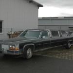 Cadillac Fleetwood Brougham in Seitenansicht