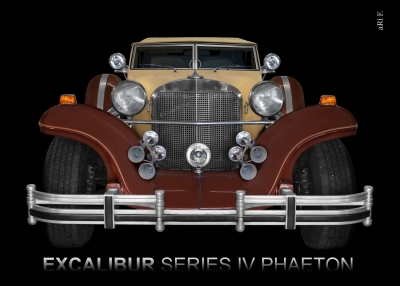 Excalibur Series IV Phaeton in Originalfarbe