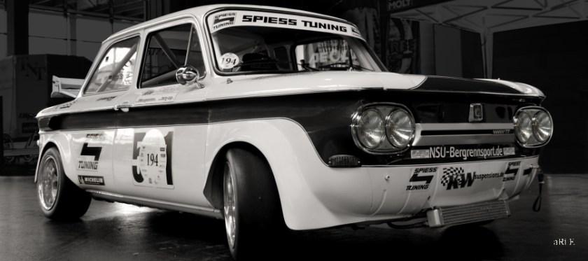 NSU 1200 TT Typ 67f Rallye Kampf der Zwerge Nürburgring
