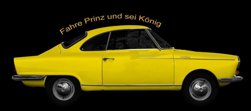 NSU Sport-Prinz Coupé Fahre Prinz und bist König