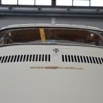 NSU Sport-Prinz Heckansicht mit Schriftzug-Logo auf Motorhaube