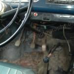 Opel Kadett A Coupe mit Pedalerie und Gangschalter