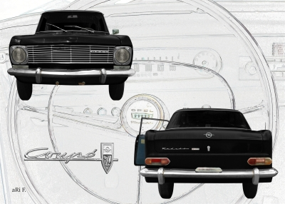 Opel Kadett A Coupe zu verkaufen