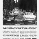 Opel Kadett A Werbung, Datum unbekannt