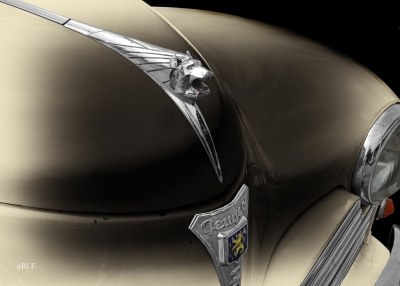 Peugeot 203 Poster ornement de capot