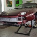 Porsche 928 GT auf Hebebühne mobile car lift(1989–1991)