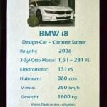 BMW i8 Design-Car technische Daten