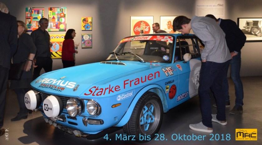 MAC Museum Art & Cars 2018 - Starke Frauen 4. März bis 28. Oktober 2018