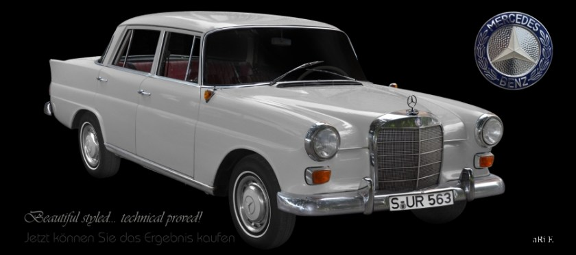 Mercedes-Benz W 110 190/200 Heckflosse (Originalfarbe)