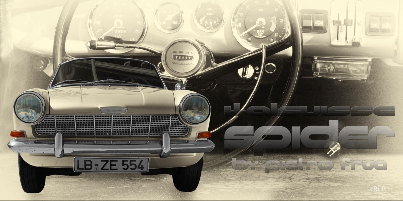 Opel Kadett Spider Italsuisse