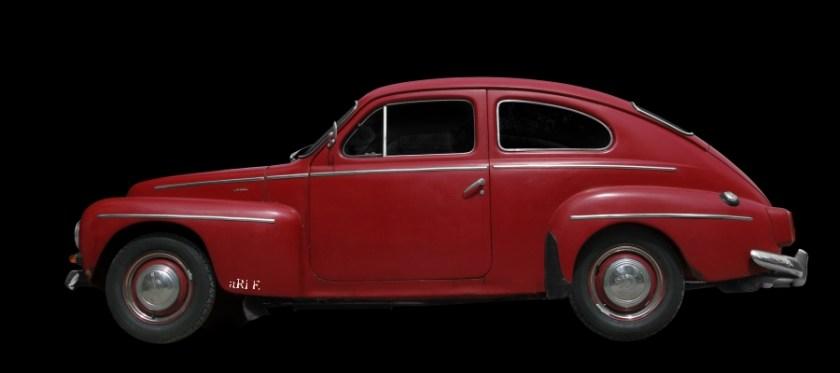 Volvo PV 544 Sport Poster in Originalfarbe