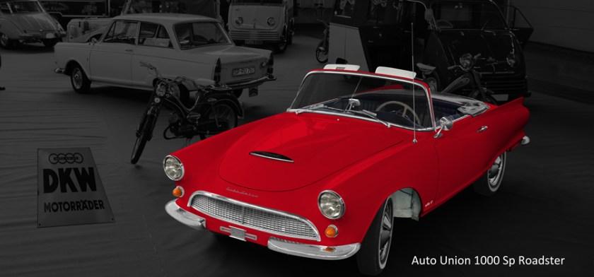 Auto Union 1000 Spezial Roadster Poster