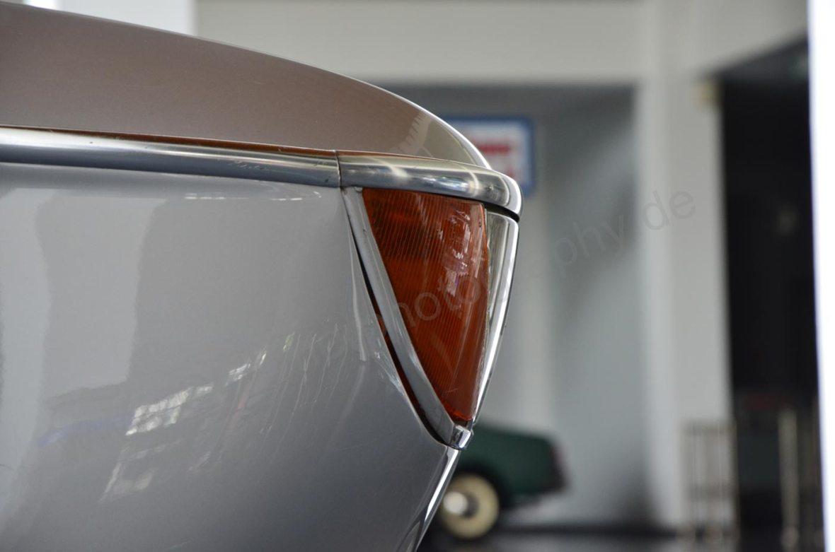 BMW 2000 C Blinker und Scheinwerfer-Details