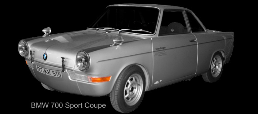 BMW 700 Sport Coupé (1960-1964) by aRi F.